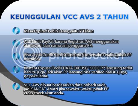 Vcc Paypal Murah Jual Vcc Avs