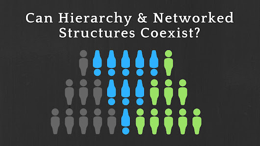 Can Hierarchical and Networked Organizational Structures Coexist?