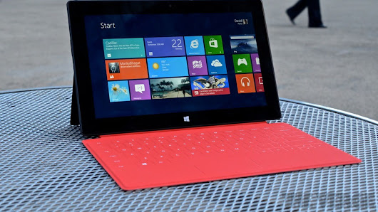 Microsoft's Surface RT tablets won't get Windows 10