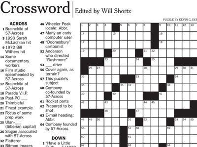 Most Common Soccer Score Football Team Job Type Crossword Clue