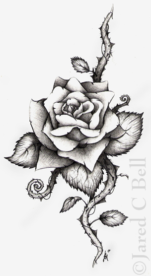Rose Heart Tattoo Drawing Photo 6 2017 Real Photo Pictures