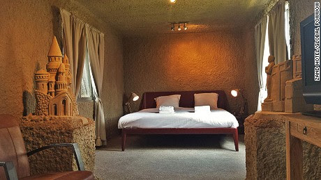 The world's first sand hotels open in the Netherlands