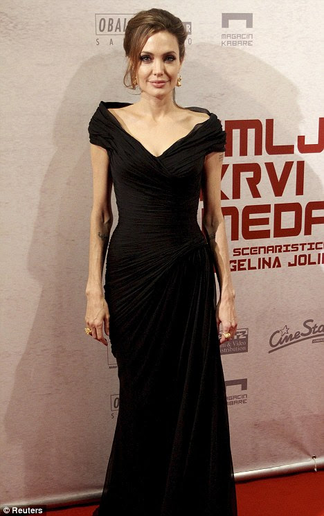 Underweight? Angelina Jolie's plummeting weight has reportedly been a concern to friends and colleagues for some time