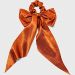 Satin Tail Bow Hair twister - A New Day Rust