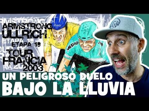 "TDF2003 ""ARMSTRONG vs ULLRICH, UNA PELIGROSA CRONO BAJO LA LLUVIA"" - Tour de Francia 2003 Etapa 19 - Alfonso Blanco"