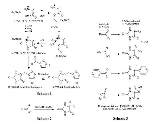 Synthesis, NMR analysis and applications of isotope-labelled hydantoins - Open Med Science