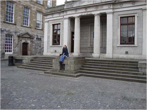 Me at Trinity College,  summer 2010