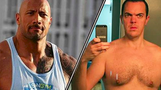 He Decided To Train Like The Rock For One Month. Today, He Looks Like THIS