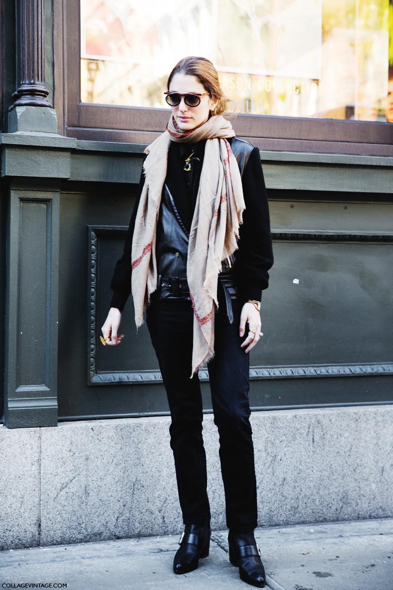 Street Style New York Fashion Week Fall Winter 2014 2015 Day 2 The Wonderful World Of Fashion