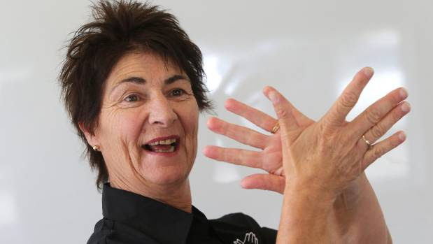 Ashburton-based talk and sign language tutor Carol Smith plans to teach in Timaru as there is no-one else qualified who is doing so.
