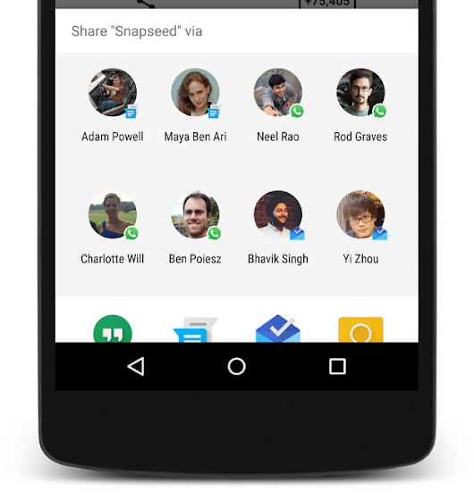Up your app's sharing game with Direct Share — Google Developers