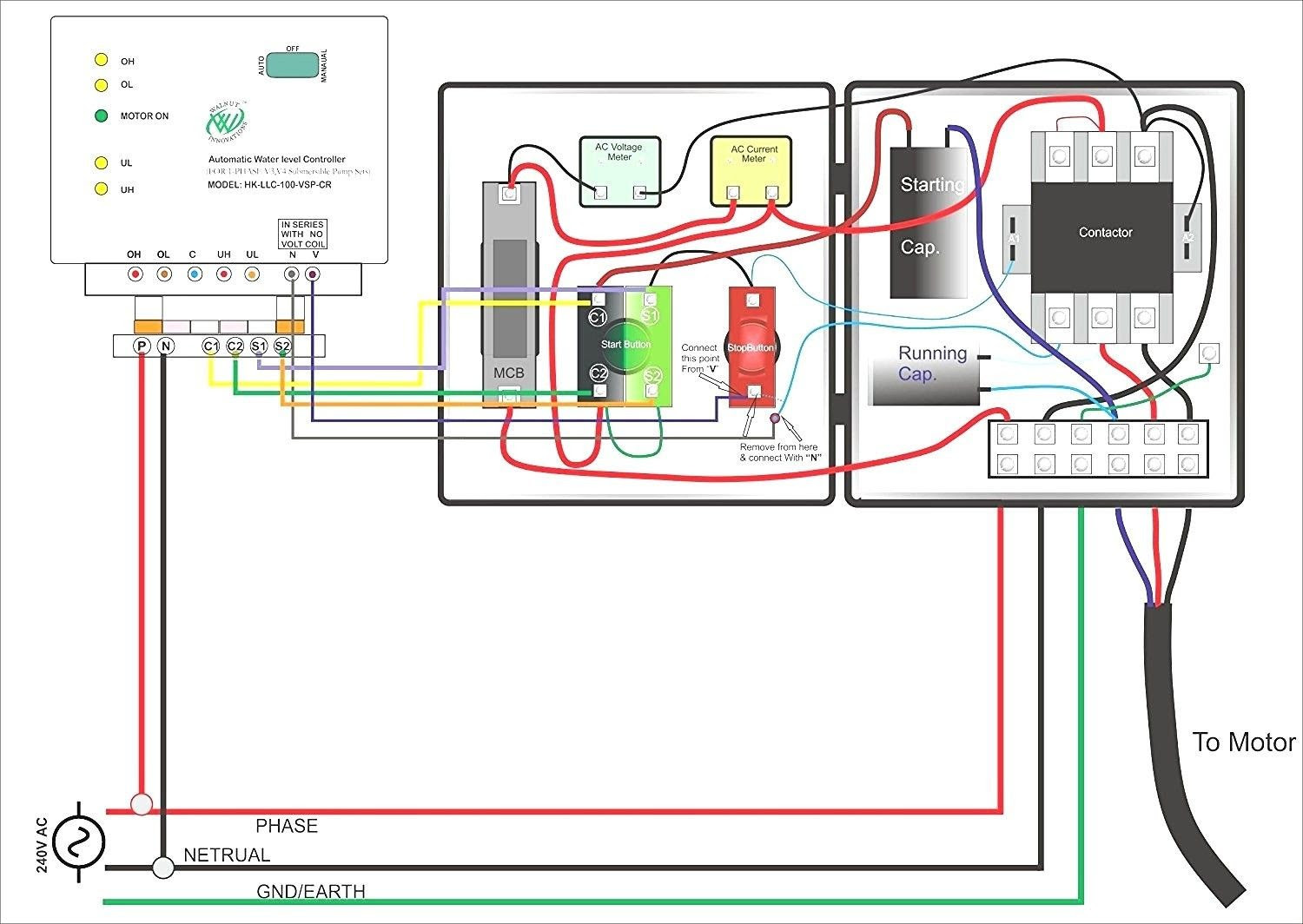 Flygt Submersible Pump Wiring Diagram