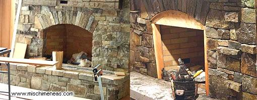 Decoracion de interiores estilo rustico estufas hogares for Modelos de hogares a lena rusticos