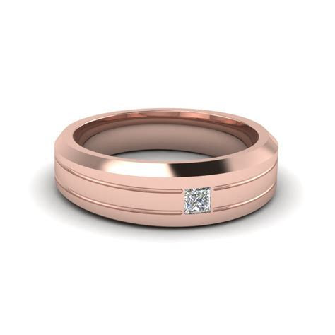 Get Classic Rose Gold Wedding Bands   Fascinating Diamonds