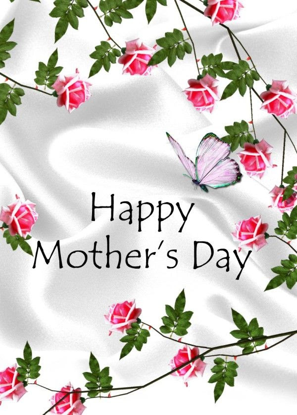 Happy Mothers Day Flowers And Butterflies Pictures Photos And
