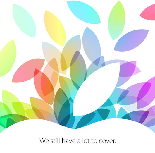 Apple October 2013 Event Invites Roll Out for October 22