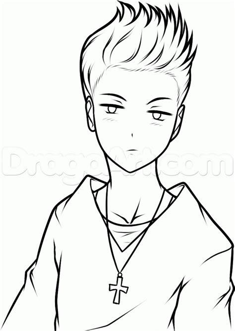 draw anime justin bieber step  step anime