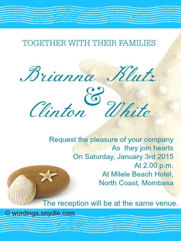 25 New Wedding Invitation Message Sample