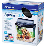 Aqueon LED Minibow Aquarium Kit Black 2.5 Gallon
