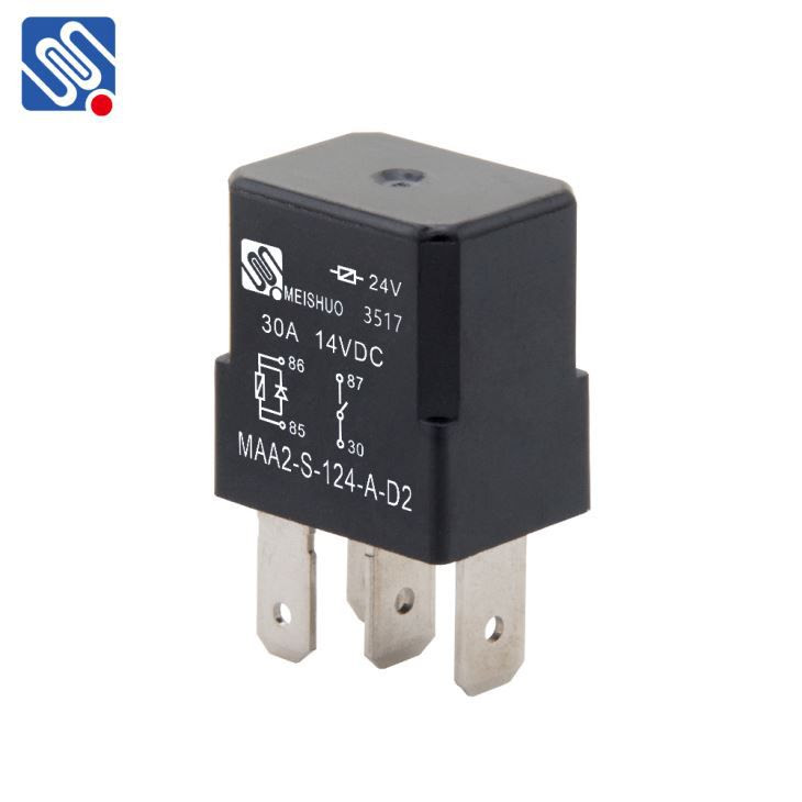 China 4 Pin Relay Wiring Diagram Horn Manufacturers And Suppliers Factory Wholesale Meishuo Electric