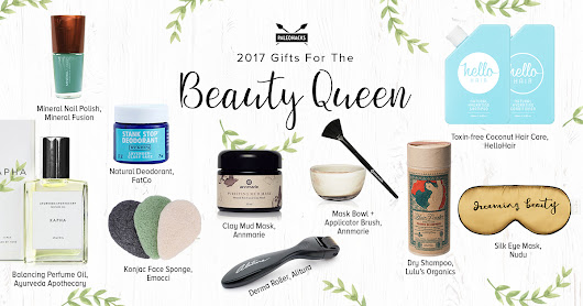 Finally, A Natural Gift Guide for Beauty Queens