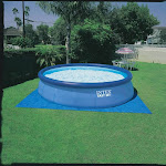 Intex 28167EH Above Ground Swimming Pool with Filter Pump, Blue