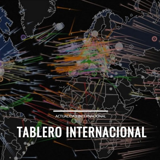 Tablero internacional 26/02/18 La Geopolítica de China a través de sus vectores de Penetración