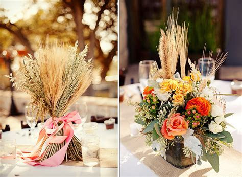 Wheat Decorations For Weddings