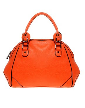 Image 1 of ASOS Bright Bowler Bag