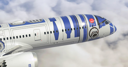 The Force is strong in this one: ANA's Star Wars plane