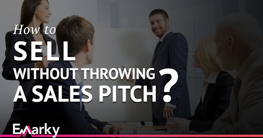 How to sell without throwing a sales pitch (in 4 simple steps)