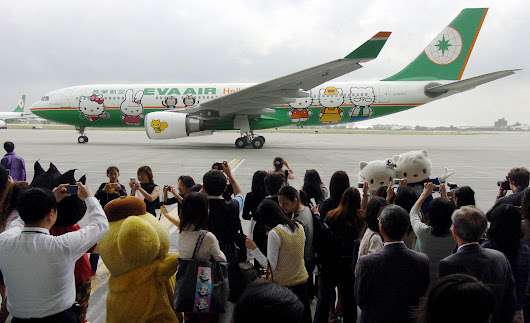 Hello Kitty Themed Planes Are Coming To The U.S.  : NPR