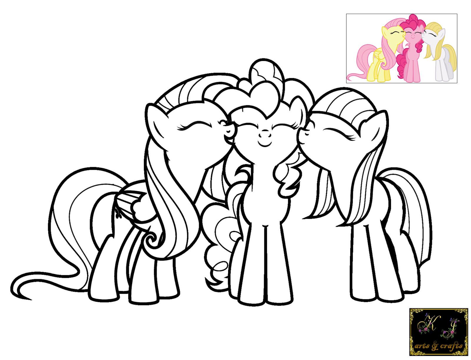 Izarnazar Gambar Mewarnai My Little Pony Rainbow Dash
