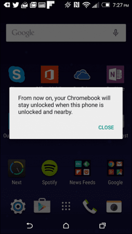 HTC One Message