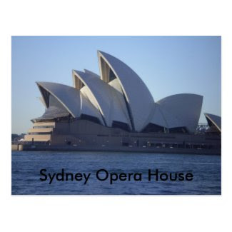 Sydney Opera House Postcards