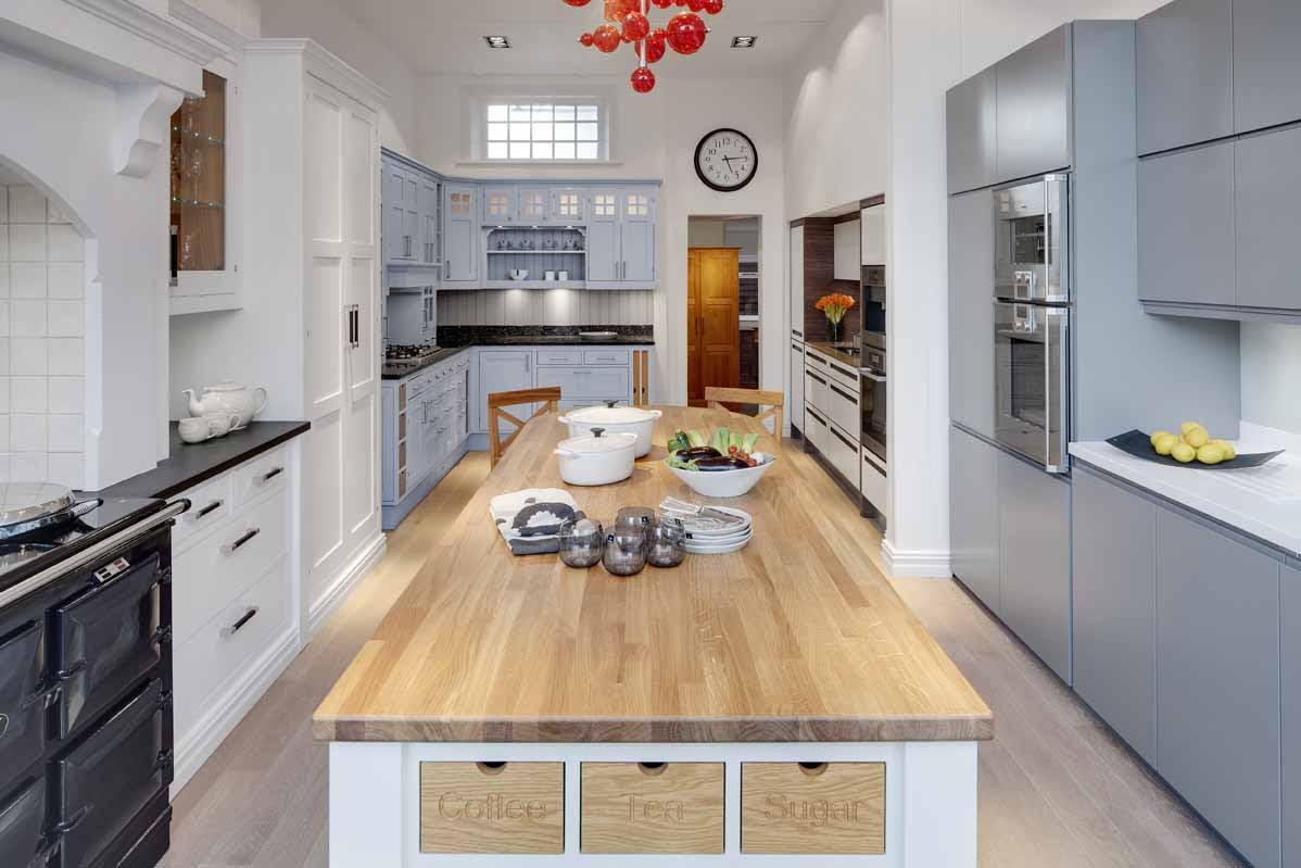 Sheraton Kitchen Showroom   Omega PLC   Rennie Mackintosh ...