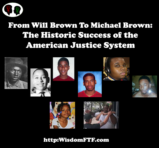 From Will Brown To Michael Brown