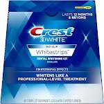 Crest 3D White No Slip Whitestrips Dental Whitening Kit - 20 count