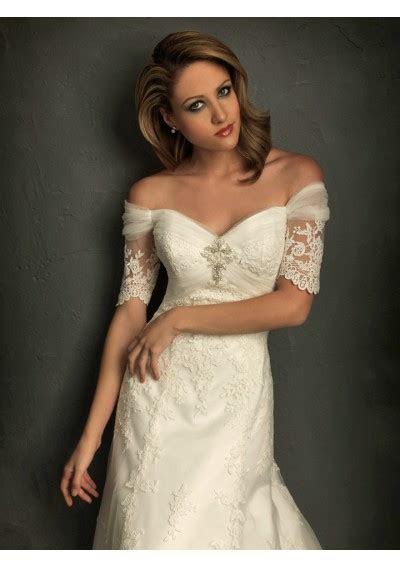 Wedding Belle: Lace Sleeve Wedding Dresses