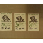 USPS Scott 1880-89 18c Lot Of 3 Books American Wildlife 50 Stamps Mint Booklet -- New
