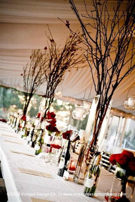 17 Best ideas about Twig Centerpieces on Pinterest   Twig