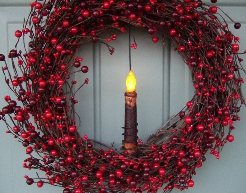 Berry Christmas Lights