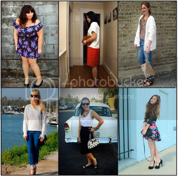 wardrobe challenge, fashion bloggers
