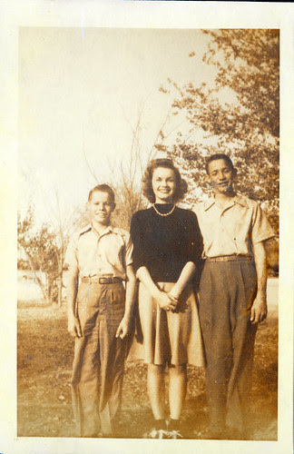 Gloria and two boys