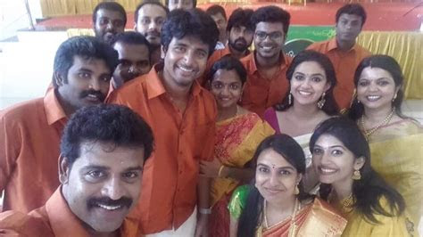 sivakarthikeyan keerthi suresh  friends marriage