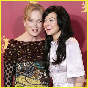 Lindsay Lohan Wants to Play Ariel in 'Little Mermaid' Reboot With Meryl Streep
