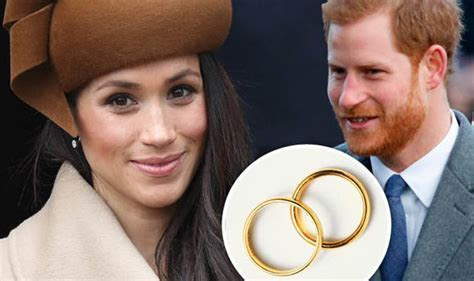 Meghan Markle and Prince Harry could follow wedding ring