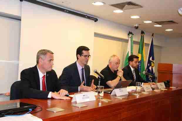 Coletiva com procuradores da Lava Jato sobre acordos de leniência