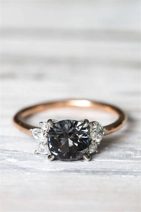 15 Inspirations of Wedding Rings With Black Diamonds
