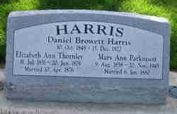 Daniel Browett Harris